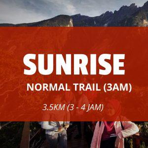 SUNRISE(3 AM)  NORMAL TRAIL